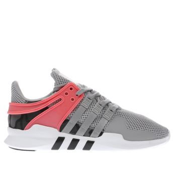 Adidas Grey Eqt Support Adv Trainers