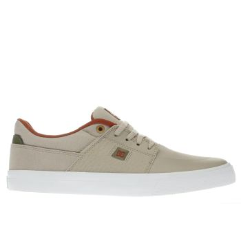 Dc Shoes Beige Wes Kremer Mens Trainers