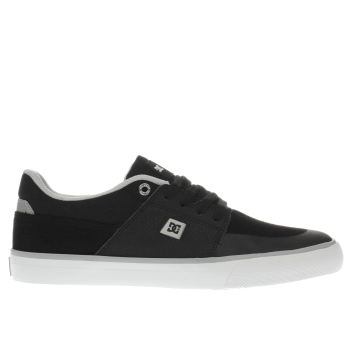 Dc Shoes Black Wes Kremer Mens Trainers