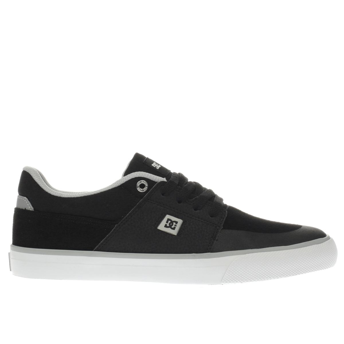 dc shoes Dc Shoes Black & Grey Wes Kremer Trainers