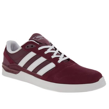 Adidas Burgundy Zx Vulc Mens Trainers