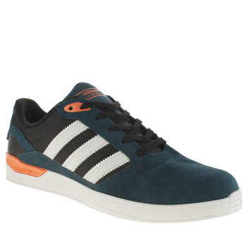 Adidas Teal & Orange Zx Vulc Trainers