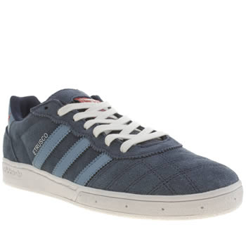 Mens Adidas Navy & Pl Blue Etrusco Trainers