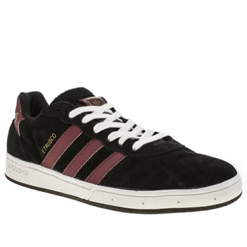 Mens Adidas Black Etrusco Trainers
