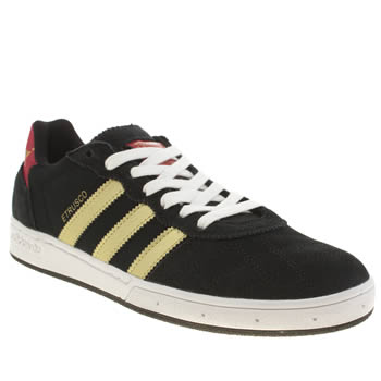 Mens Adidas Black & Red Etrusco Trainers