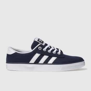 Mens Adidas Navy & White Kiel Trainers