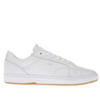 Dc Shoes White Astor Trainers