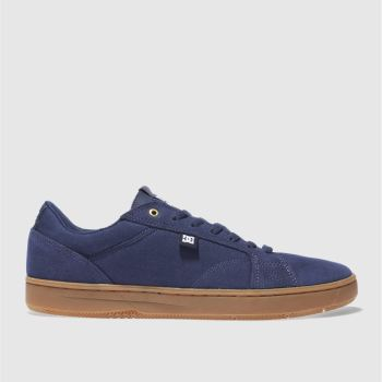 Dc Shoes Navy Astor Mens Trainers