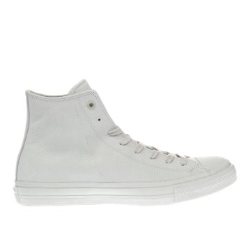 Converse Stone Chuck Taylor Ii Hi Leather Trainers
