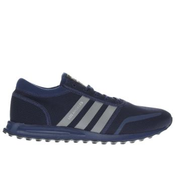 Adidas Navy Los Angeles Trainers
