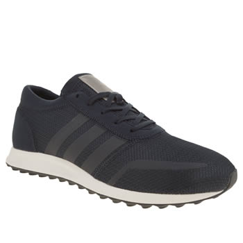 Adidas Navy & White Los Angeles Trainers