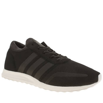 Mens Adidas Black Los Angeles Trainers