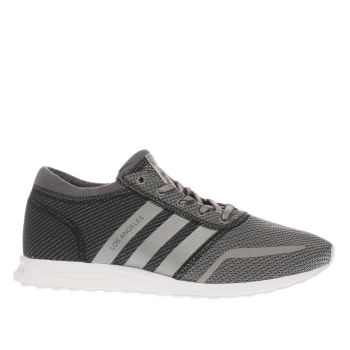 Adidas Grey Los Angeles Trainers