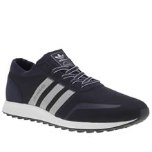 Adidas Navy & Grey Los Angeles Mens Trainers