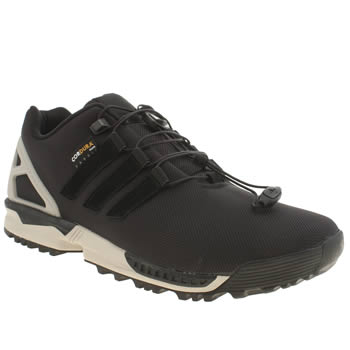 Mens Adidas Black Zx Flux Winter Trainers
