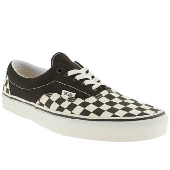 mens vans black era too trainers