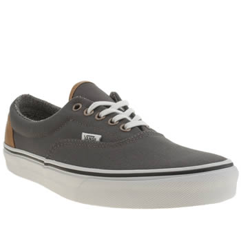 Mens Vans Dark Grey Era Trainers