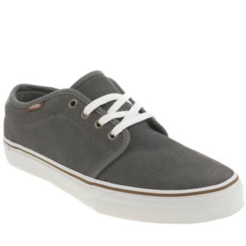 Mens Vans Dark Grey 159 Vulc Trainers