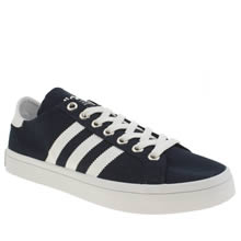 Adidas Navy & White Court Vantage Mens Trainers