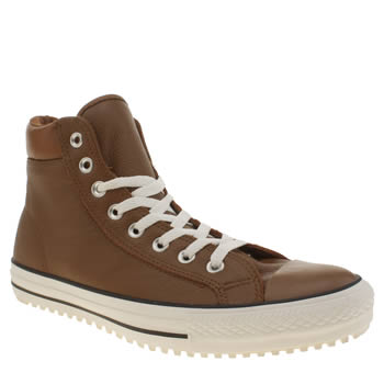 Mens Converse Tan Ctas Boot 2.0 Trainers