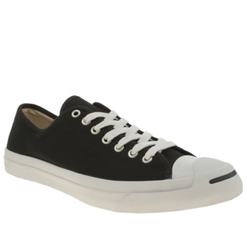 Converse Black & White Jack Purcell Trainers