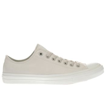 Converse Beige Chuck Taylor Ii Ox Trainers
