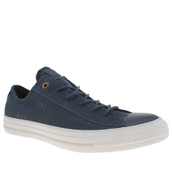Converse Navy All Star Nep Canvas Ox Trainers