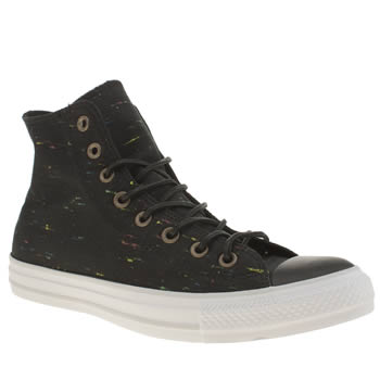 Mens Converse Black All Star Nep Canvas Hi Trainers