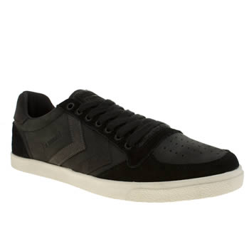 Hummel Black Slimmer Stadil Mix Low Trainers