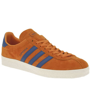 Adidas Orange Topanga Trainers
