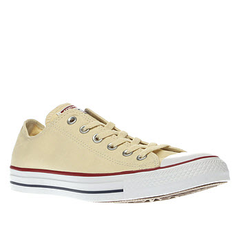 Converse Cream All Star Ox Mens Trainers