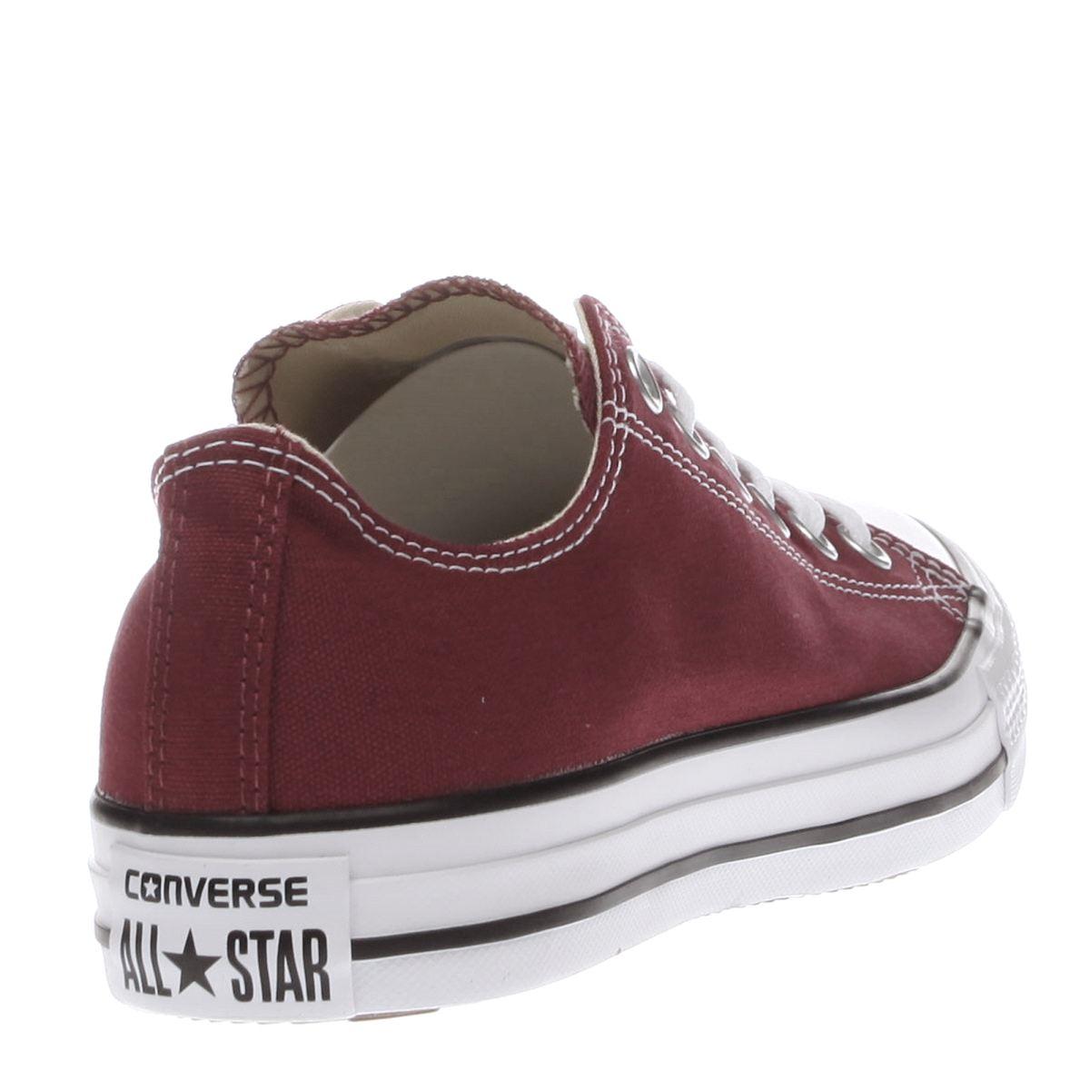 burgundy converse all stars