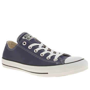 Mens Converse Blue Chuck Taylor All Star Lo Trainers