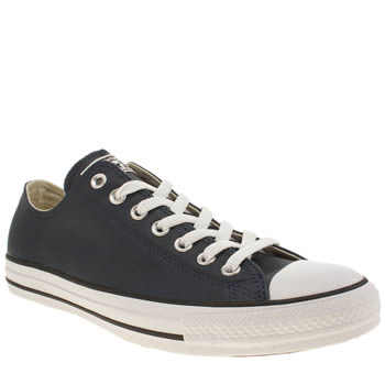 Mens Converse Navy Chuck Taylor All Star Oxford Trainers
