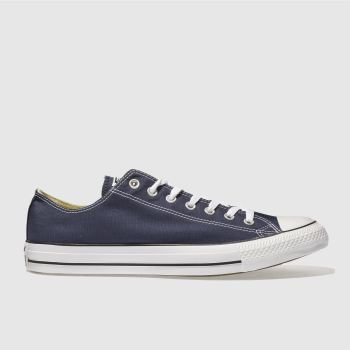 Mens Converse Navy All Star Lo Trainers
