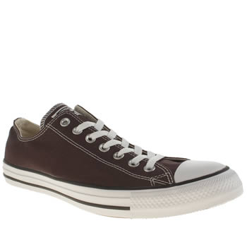 Converse Brown Chuck Taylor All Star Ox Trainers