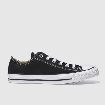Mens Converse Black All Star Lo Trainers