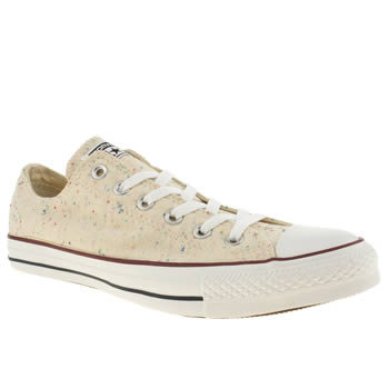 mens converse multi all star speckled jersey ox trainers