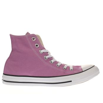 Converse Lilac Chuck Taylor All Star Hi Trainers