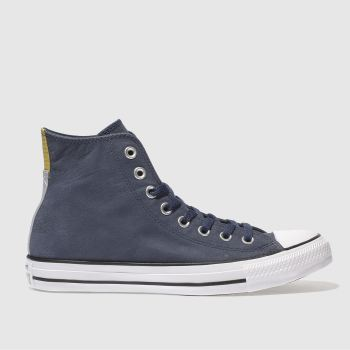 Converse Navy Chuck Taylor All Star Hi Mens Trainers