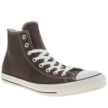 Mens Converse Brown Chuck Taylor All Star Hi Trainers
