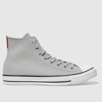 Converse Light Grey CHUCK TAYLOR ALL STAR HI Trainers