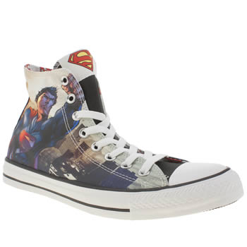 Converse Multi All Star Man Of Steel Hi Trainers
