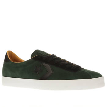 Converse Dark Green Breakpoint Mens Trainers