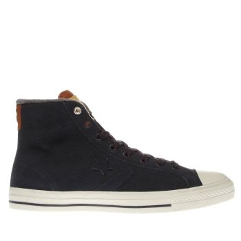 Converse Navy Star Player Hi Mens Trainers