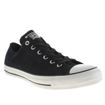 Converse Navy & White All Star Oxford Suede Trainers
