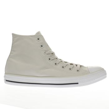 Converse Stone All Star Peach Canvas Hi Mens Trainers