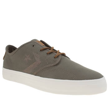 Mens Converse Grey Zakim Trainers