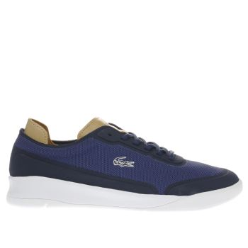 Lacoste Navy Lt Spirit Elite Mens Trainers