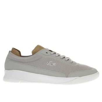 Lacoste Grey Lt Spirit Elite Mens Trainers